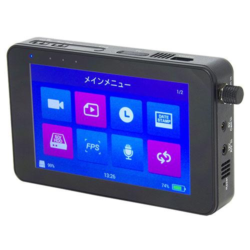 1TBHDD搭載 デジタルI/F採用 高画質モバイルレコーダー PS-3000 サンメカトロニクス
