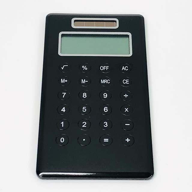 【訳あり品セール】moto design モトデザイン 見た目にこだわるおしゃれな電卓 ブラック
