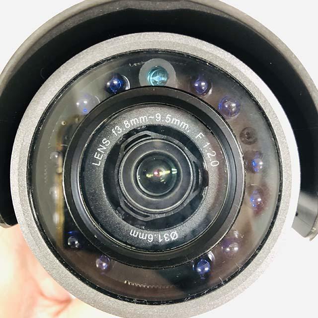 【訳あり品セール】【展示開封品】防犯カメラ バリフォーカルレンズ搭載 屋外使用も可能なバレットタイプITC-306HV
