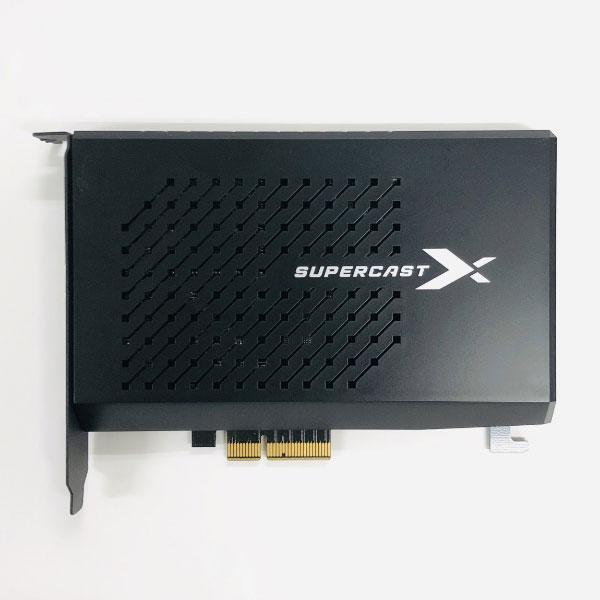 4K録画HDRパススルー対応画像安定装置機能搭載キャプチャーボード SuperCast X LIVE 4K Skydigital