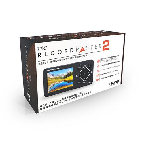 モニター搭載ポータブルHDMIメディアレコーダー TMREC-FHD2 TEC