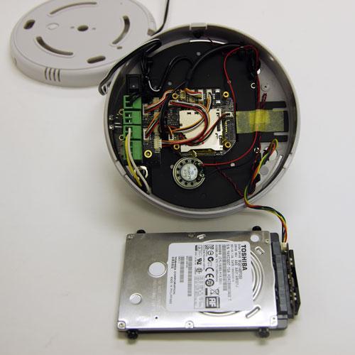 NC-500PD 500GB HDD搭載100万画素ドームビデオカメラ