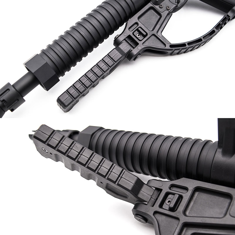 【只今ポイント10倍!9月29日8時59分まで】C&C Tac ZAスタイルマシンガンキット ACTION ARMY AAP-01 アサシン用