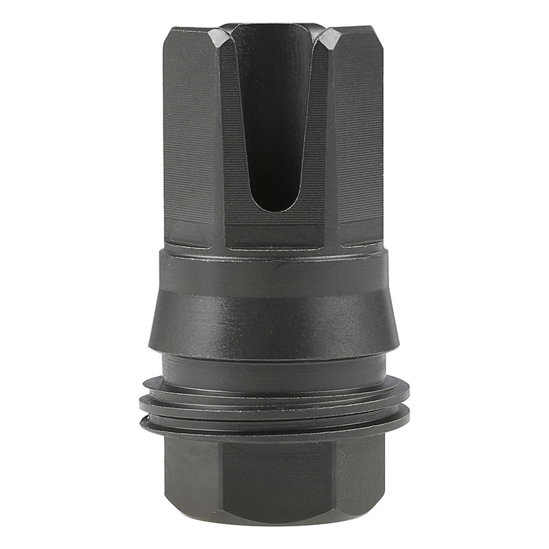 【パーツ類ポイント5倍!9月21日8時59分まで】 Airsoft Artisan SIG MCX SRD762-QD 3-Prongタイプマズルブレーキ (14mm逆ネジ/別売762Ti-QDサプレッサー対応)