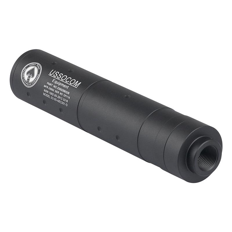 【ポイント5倍!12月11日8時59分まで】 SAA US SOCOMタイプサイレンサー (Φ31×155mm/14mm逆ネジ)