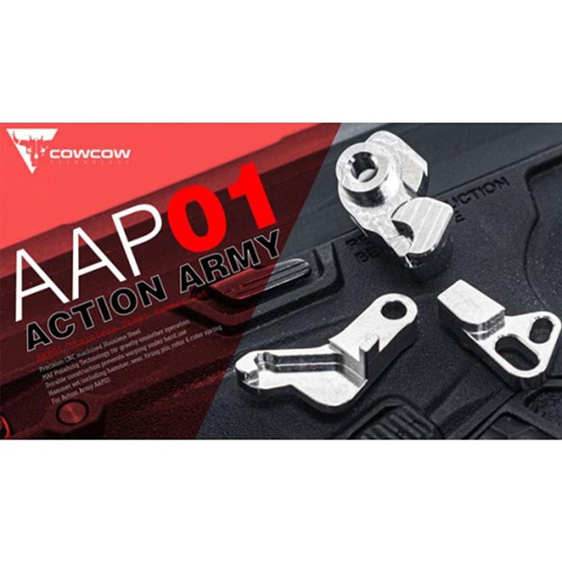 【パーツ類ポイント5倍!9月21日8時59分まで】 COWCOW Technology Action Army AAP01 ステンレスハンマーセット