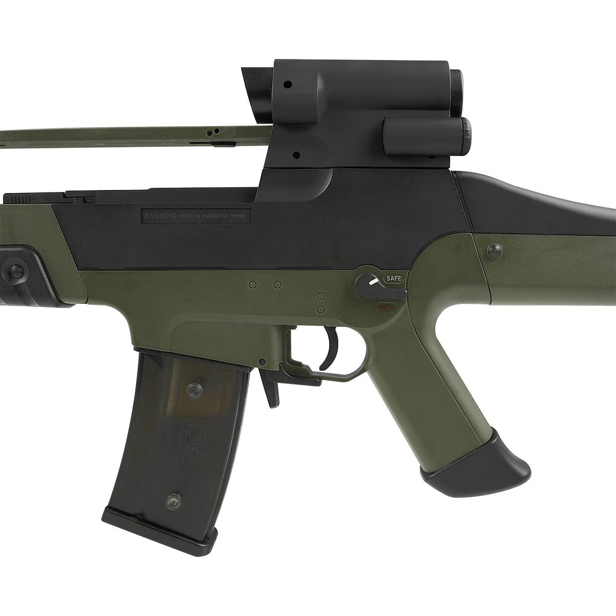 【同梱不可】 SRC H&K XM8 フルサイズ電動ガン NV Olive (JP Ver.) 【配送業者:佐川急便限定】