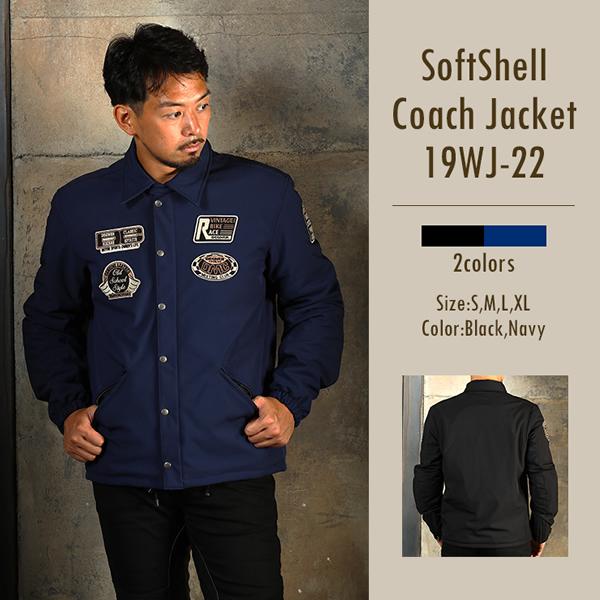 ソフトシェルコーチジャケット/SOFT SHELL COACH JACKET  [19WJ-22]