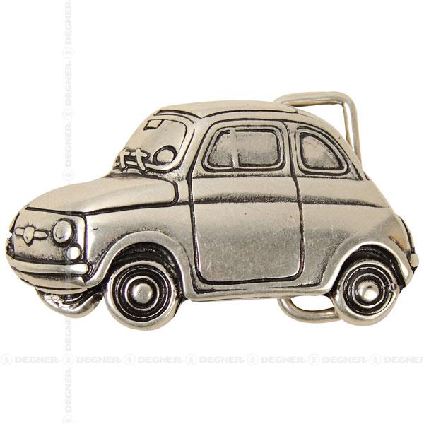 [レターパックで送料370円] チンクエチェント/CAR ( FIAT )(シルバー) [BK-6087-SI]