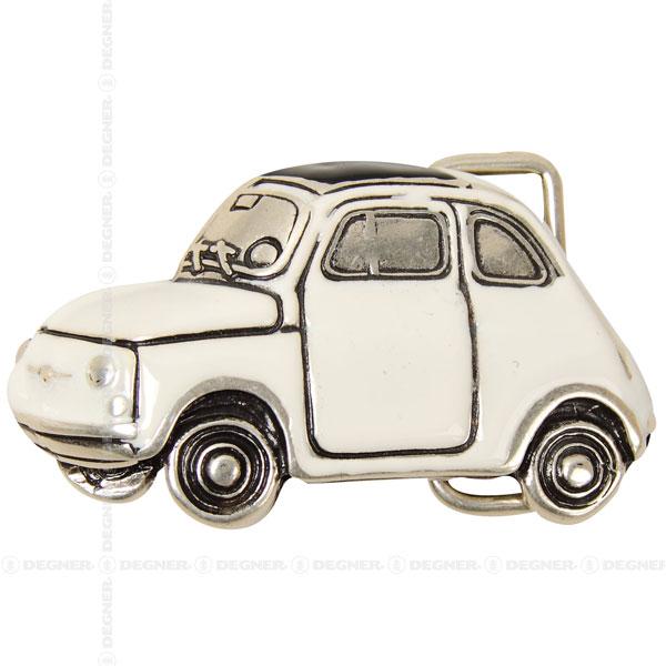 [レターパックで送料370円] チンクエチェント/CAR ( FIAT )(ホワイト) [BK-6087-WH]