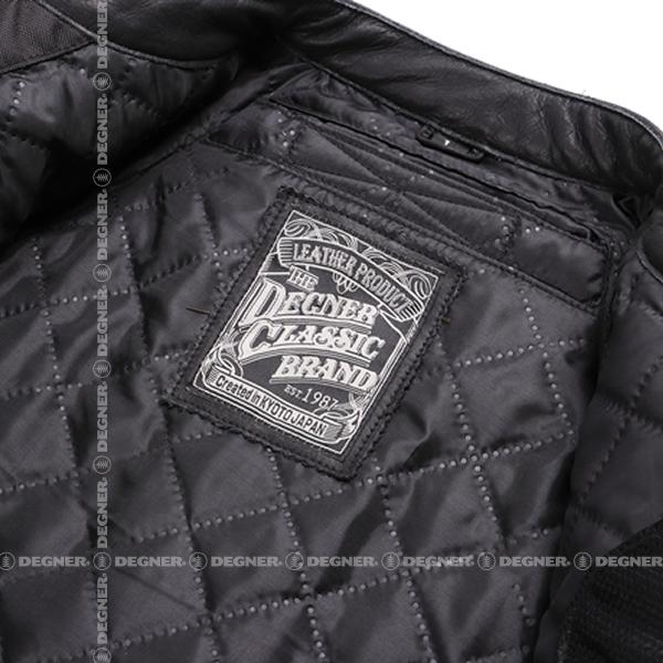ヴィンテージレザージャケット/ VINTAGE LEATHER JACKET(ブラック)[16WJ-9-BK]