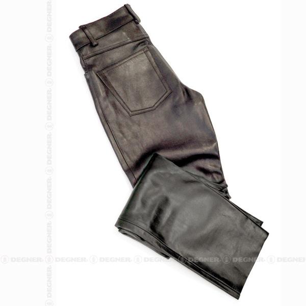 レザーパンツ ストレート/LEATHER PANTS STRAIGHT(ブラック) [DP-10AN-ST]