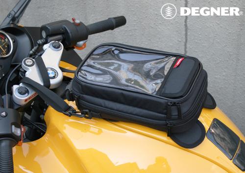 A5サイズ マグネット式タンクバッグ/A5 SIZE MAGNET TYPE TANK BAG(ブラック) [NB-15MAG-BK]
