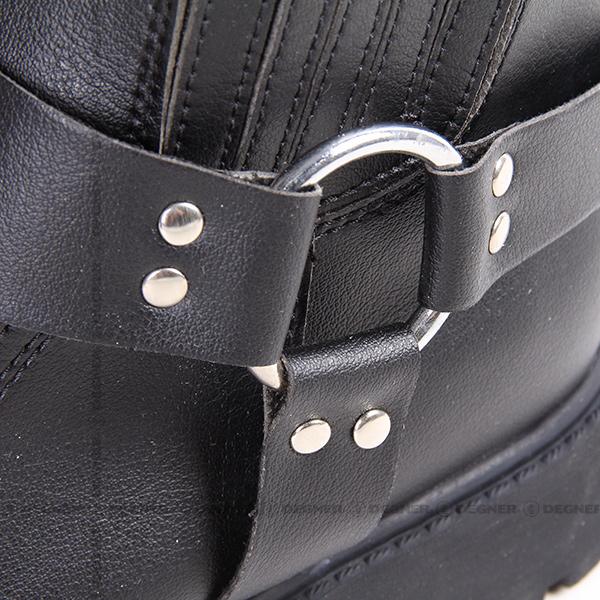 クールメッシュリングブーツ/COOL MESH RING BOOTS(ブラック) [250M]
