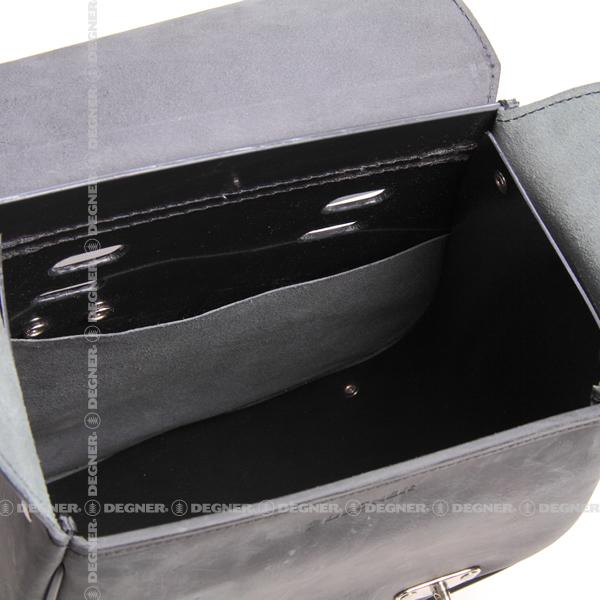 レザーリジッドバッグ/LEATHER RIGID BAG(ブラウン) [SB-67IN-BR]