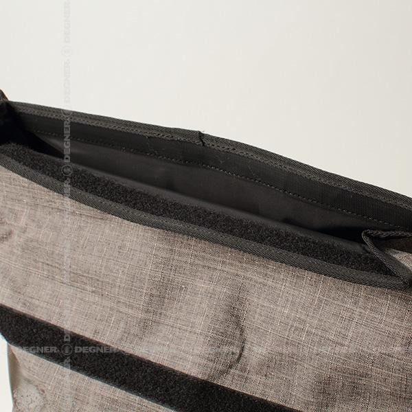 ウォータープルーフバッグ/WATER PROOF BAG(グレー) [NB-103-GY]