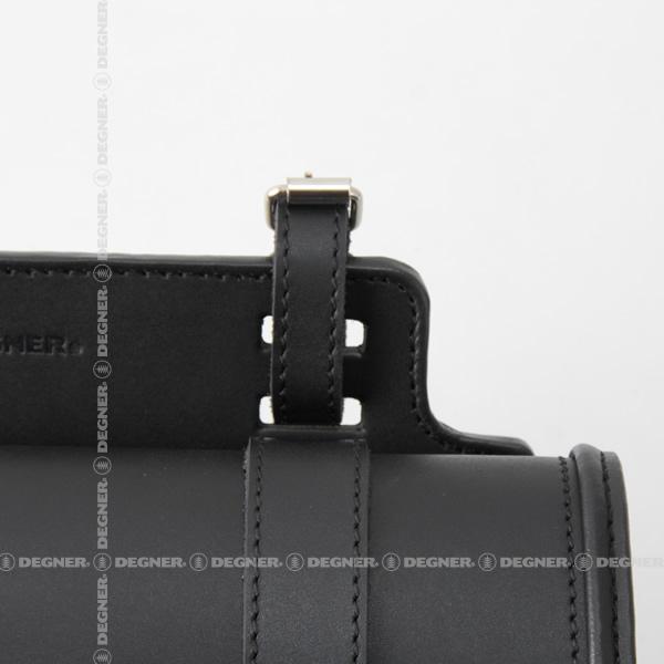 レザーサドルバッグ/LEATHER SADDLEBAG(ブラック) [SB-55-BK]