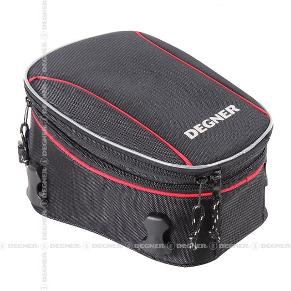 容量可変式シートバッグ/DEGNER ADJUSTER SEAT BAG (レッドパイピング) [NB-150-RDP]