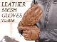 [レターパックで送料370円] メッシュレザーグローブ/MESH LEATHER GLOVE[TG-69M]