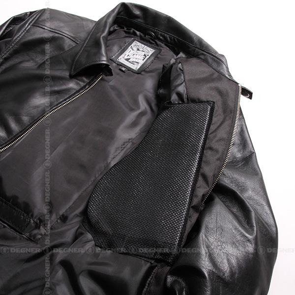 レザージャケット/LEATHER JACKET(ブラック)[17SJ-1-BK]