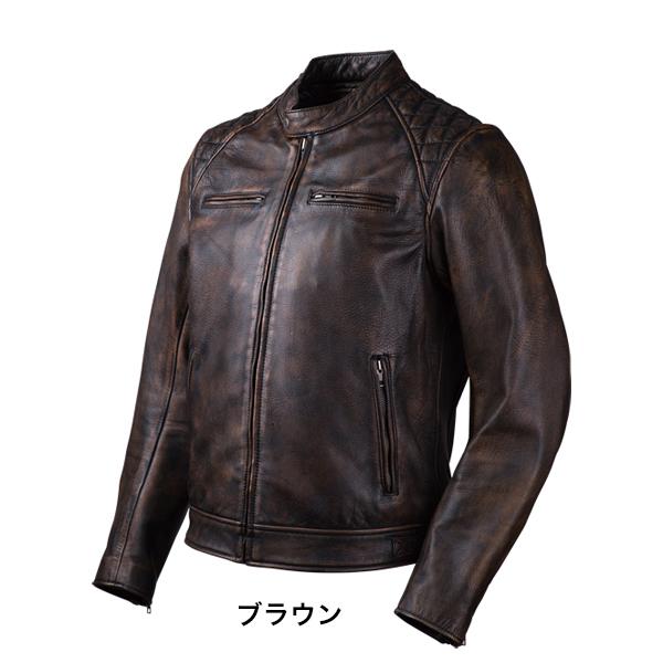ゴートレザージャケット/GOAT LEATHER JACKET(ブラック)[18SJ-6-BK]