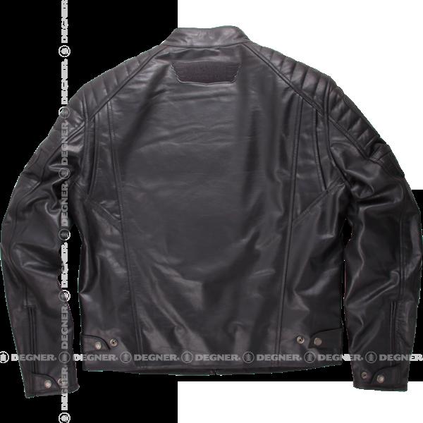 ヴィンテージレザージャケット/VINTAGE LEATHER JACKET(ブラック)[15WJ-2A-BK]
