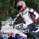レザーレーシングジャケット/COW LEATHER RACING JACKET[19WJ-19]