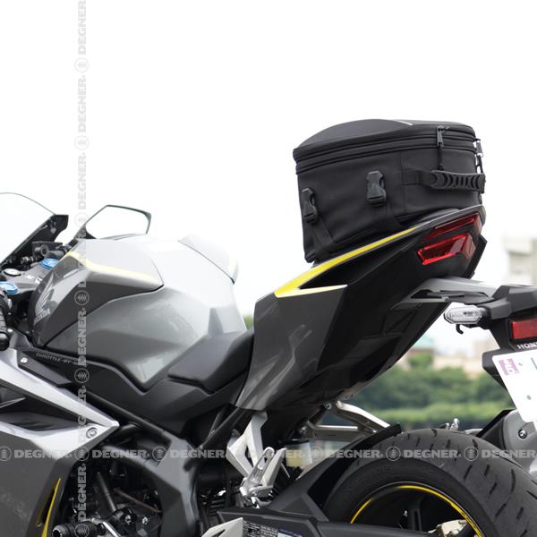 容量可変式シートバッグ/DENNER ADJUSTER SEAT BAG (ブラック) [NB-145-BK]