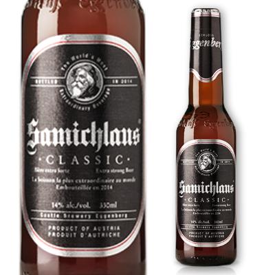 サミクラウス ビール 330ml アルコール14度 [シュロス・エッゲンベルグ]【お酒 ラガービール ボックビール】