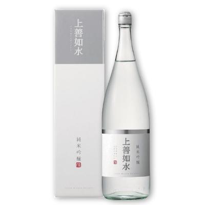 上善如水 純米吟醸 1800ml [白瀧酒造 新潟県]【お酒 日本酒 辛口 純米酒】