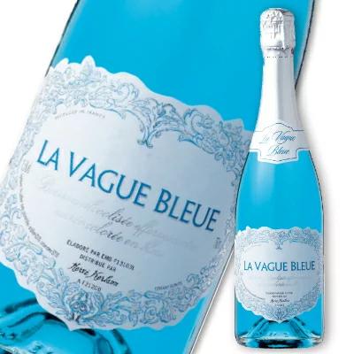 ラ・ヴァーグ・ブルー スパークリング 750ml NV エルヴェ・ケルラン [発泡酒 辛口]【お酒 ワイン 果実酒】