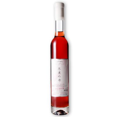 林農園 五一わいん 氷菓の雫 赤 375ml (コンコード)[赤ワイン 極甘口 デザートワイン]【果実酒 ワイン お酒 五一ワイン 日本 信州 桔梗ケ原】