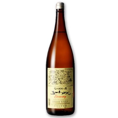 林農園 五一わいん エコノミー 白 1.8L [白ワイン やや甘口]【果実酒 ワイン お酒 五一ワイン Economy 一升瓶 日本 信州 桔梗ケ原】