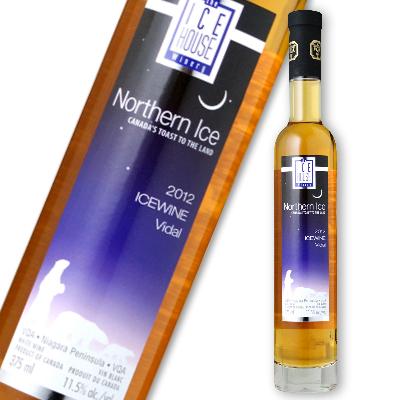ノーザン・アイス ヴィダル アイスワイン 375ml × 2本 [白ワイン 極甘口 アイスワイン]