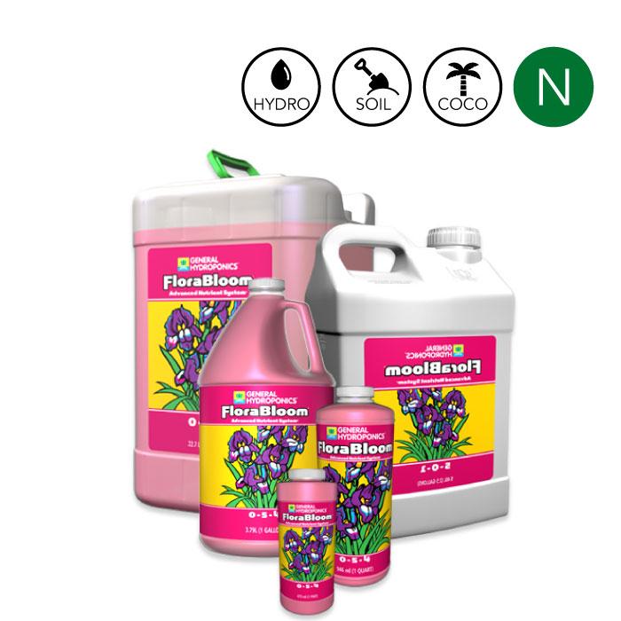 GH 水耕・土耕栽培3パート液肥 Flora Bloom