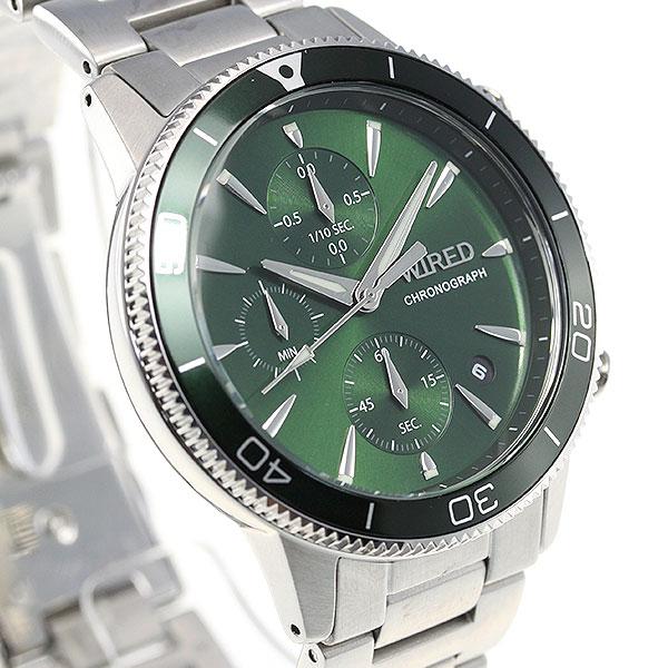 セイコー ワイアード SEIKO WIRED 腕時計 メンズ クロノグラフ TOKYO SORA AGAT430