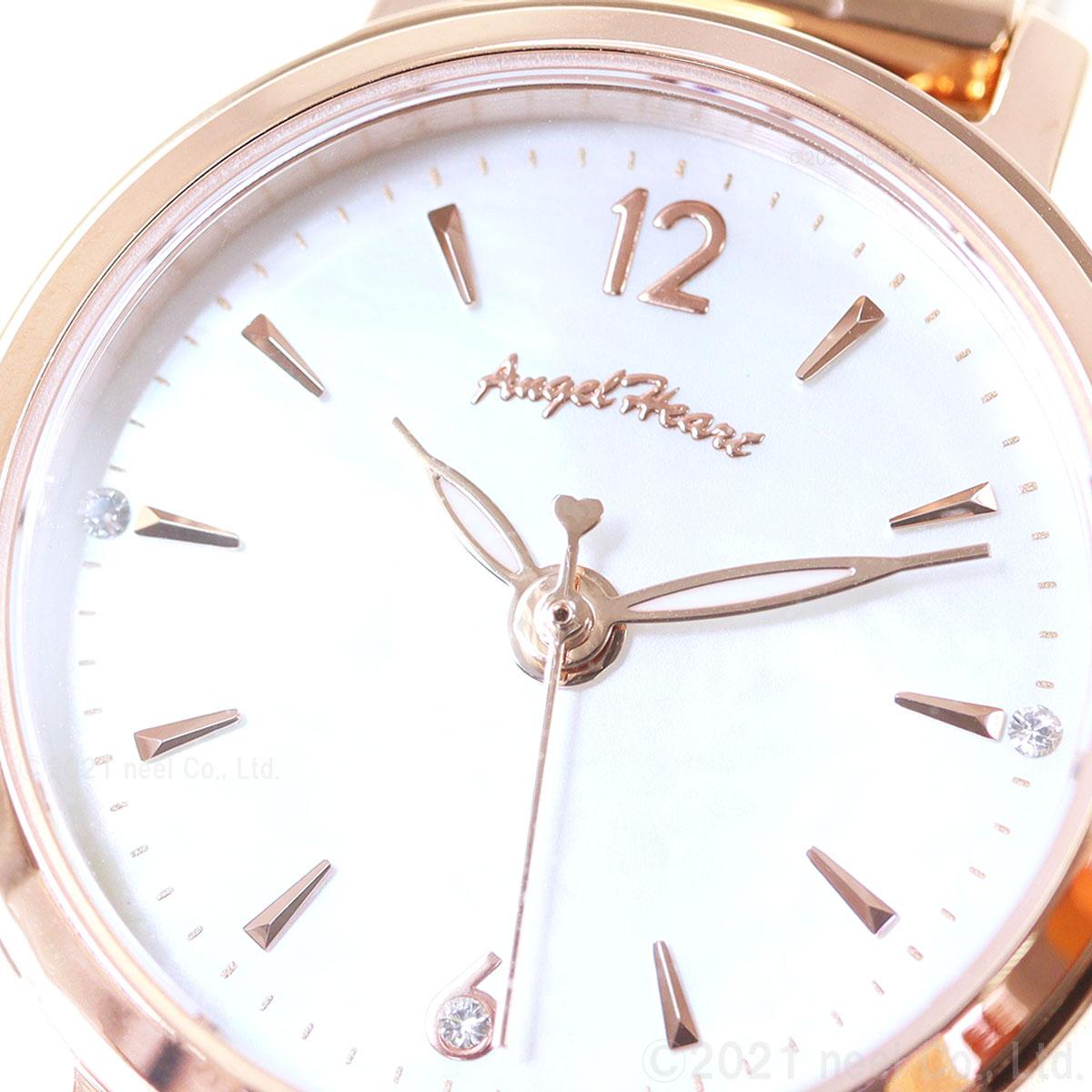 エンジェルハート Angel Heart ソーラー 腕時計 レディース ファーストスター First Star FS24PG
