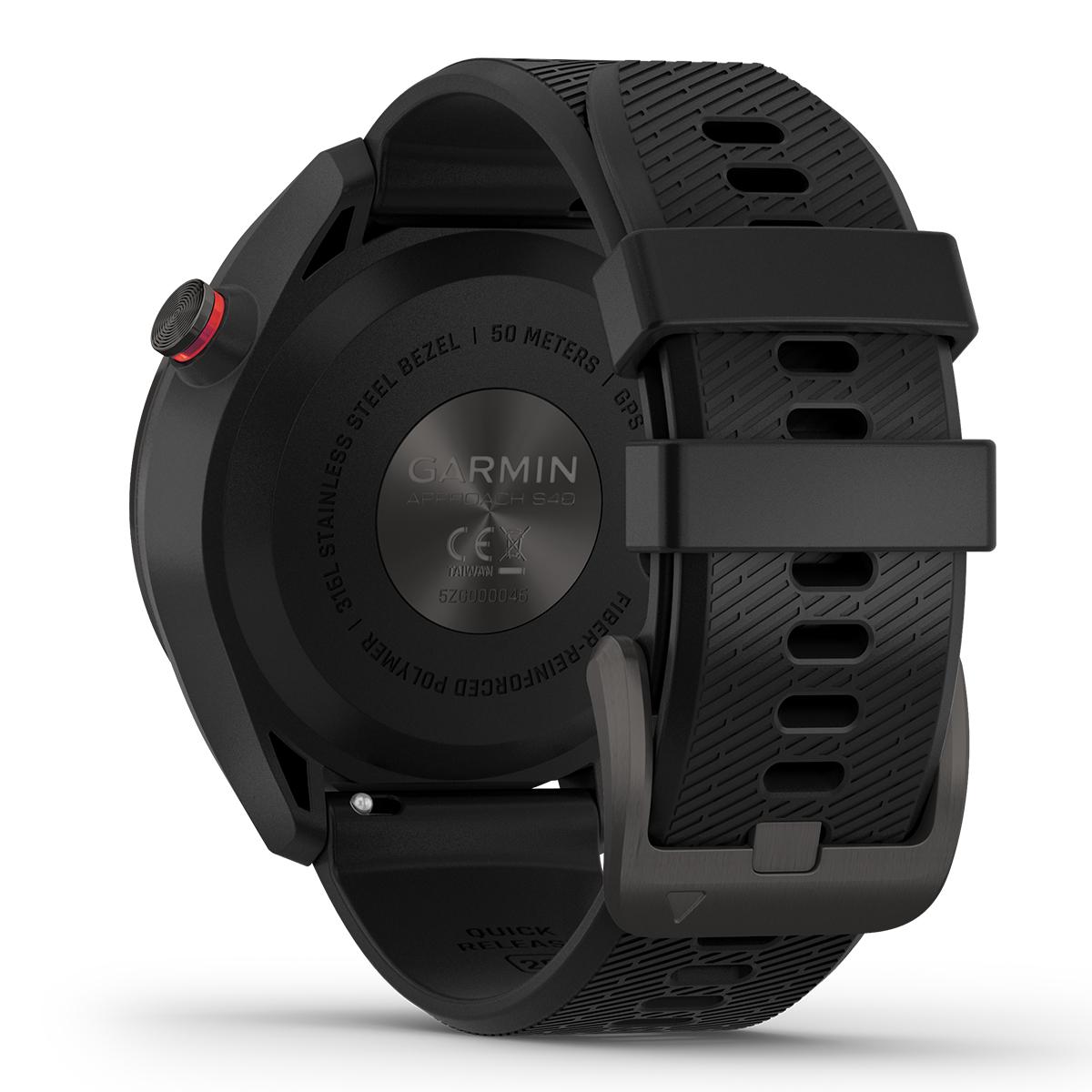 ガーミン GARMIN スマートウォッチ Approach S42 Black/Carbon Gray アプローチ S42 ブラック/カーボングレー ゴルフ GPS ウェアラブル 腕時計 010-02572-20