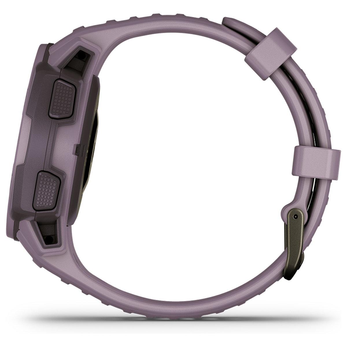 ガーミン GARMIN Instinct Dual Power Orchid インスティンクト デュアルパワー スマートウォッチ ウェアラブル GPS ソーラー 腕時計 010-02293-40