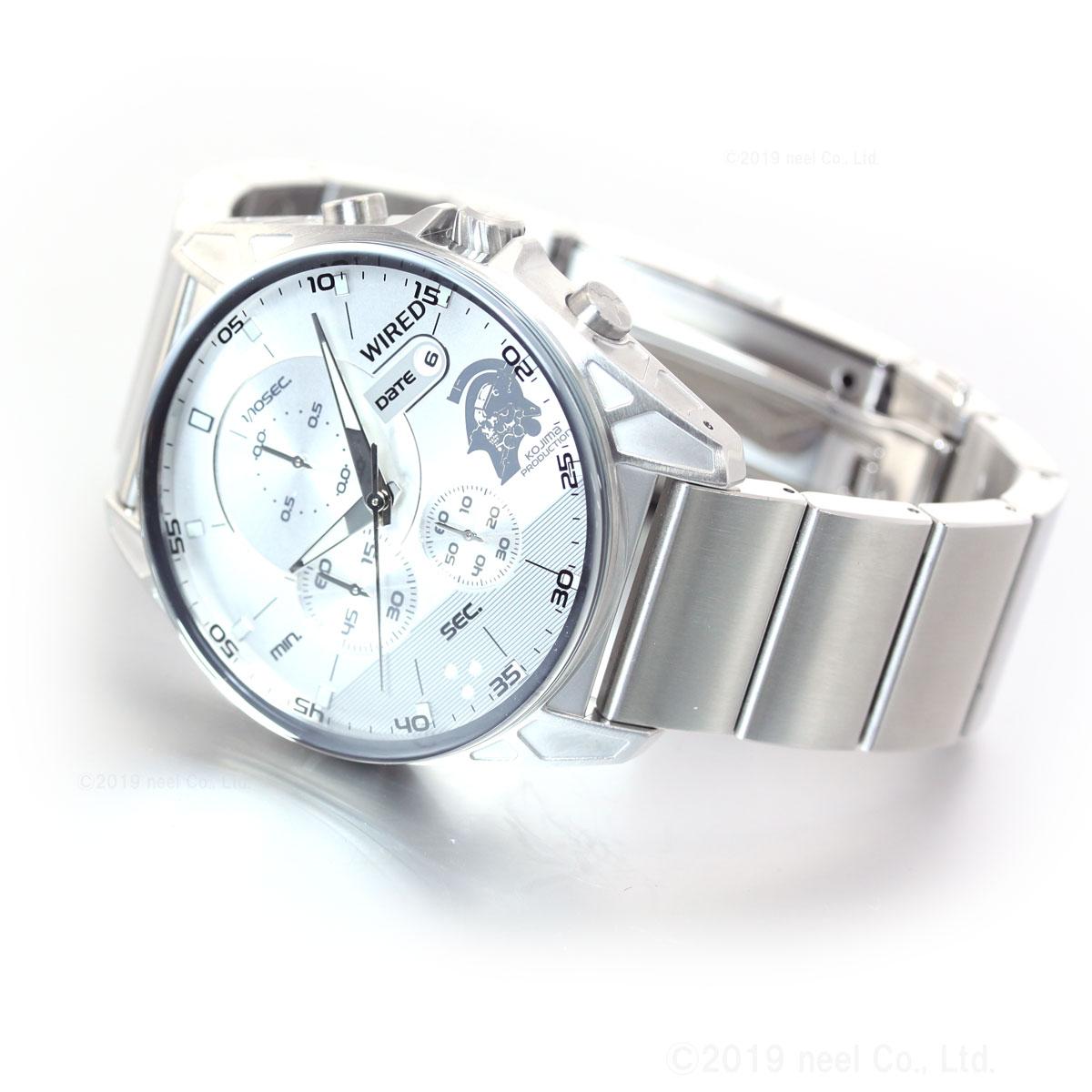 セイコー ワイアード SEIKO WIRED×wena コジマプロダクション ルーデンス コラボ 限定モデル スマートウオッチ 腕時計 メンズ クロノグラフ AGAT730