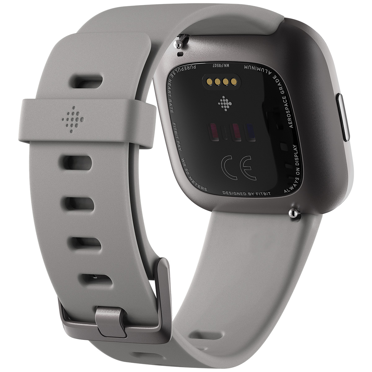fitbit フィットビット versa 2 ヴァーサ2 フィットネス スマートウォッチ ウェアラブル端末 腕時計 ストーン/ミストグレー アルミニウム FB507GYSR-FRCJK