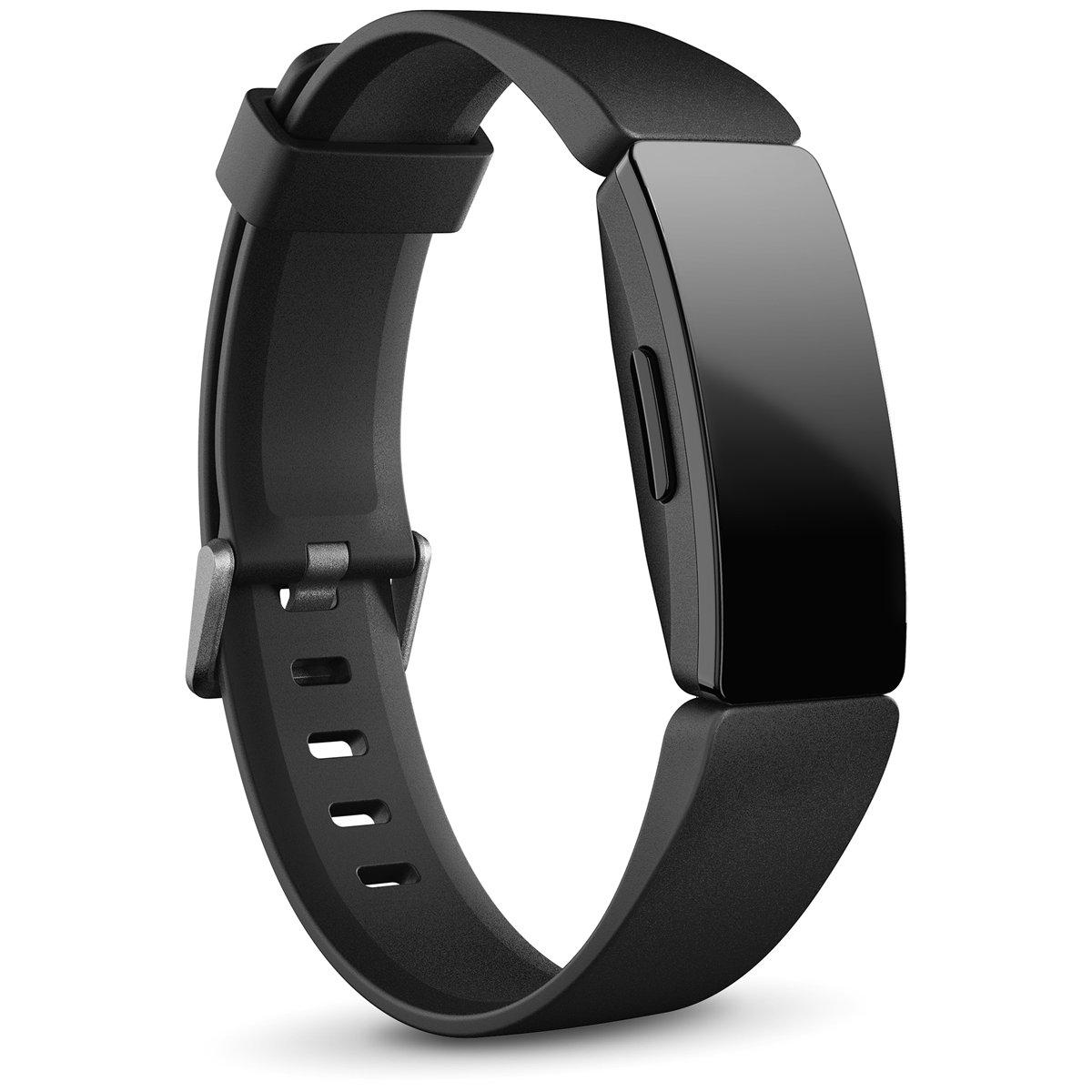 Fitbit フィットビット Inspire HR インスパイアHR フィットネス トラッカー ウェアラブル端末 腕時計 L/Sサイズ ブラック FB413BKBK-FRCJK