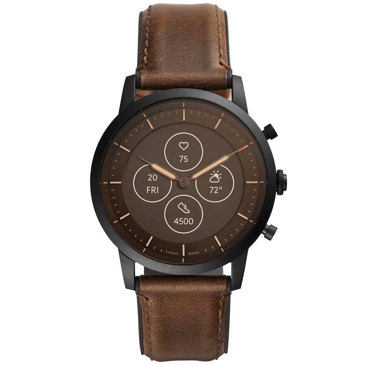フォッシル FOSSIL ハイブリッド スマートウォッチHR コライダー COLLIDER ウェアラブル 腕時計 メンズ レディース FTW7008