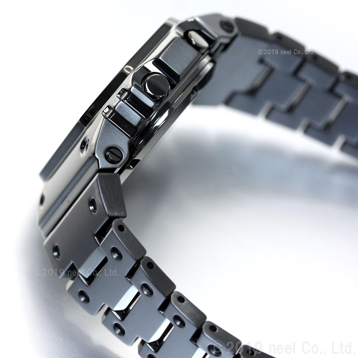 カシオ Gショック CASIO G-SHOCK タフソーラー 電波時計 デジタル 腕時計 メンズ フルメタル ブラック GMW-B5000GD-1JF
