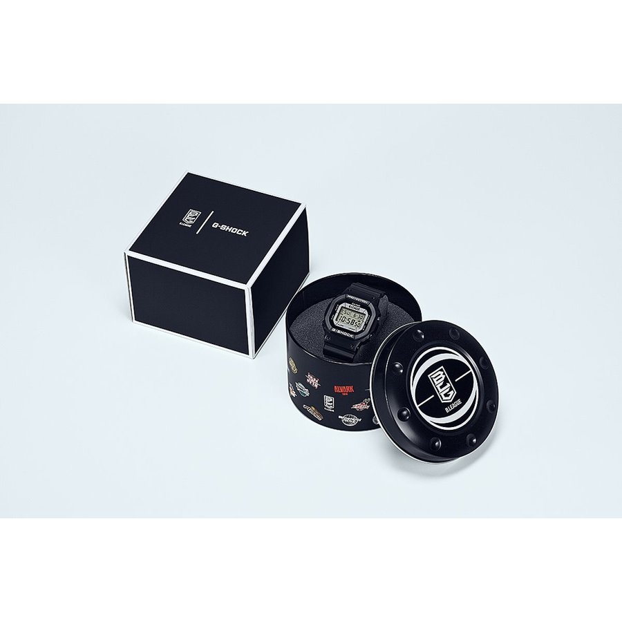 B.LEAGUE × G-SHOCK コラボ 限定モデル デジタル メンズ 腕時計 カシオ CASIO バスケットボール Bリーグ DW-5600BLG21-1JR