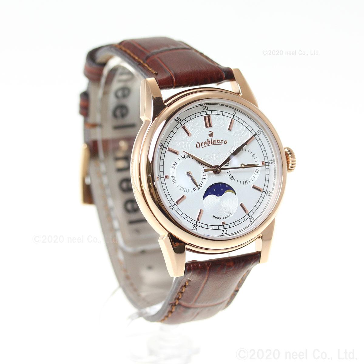 オロビアンコ 時計 メンズ Orobianco 腕時計 ビアンコネーロ BIANCONERO OR0074-9