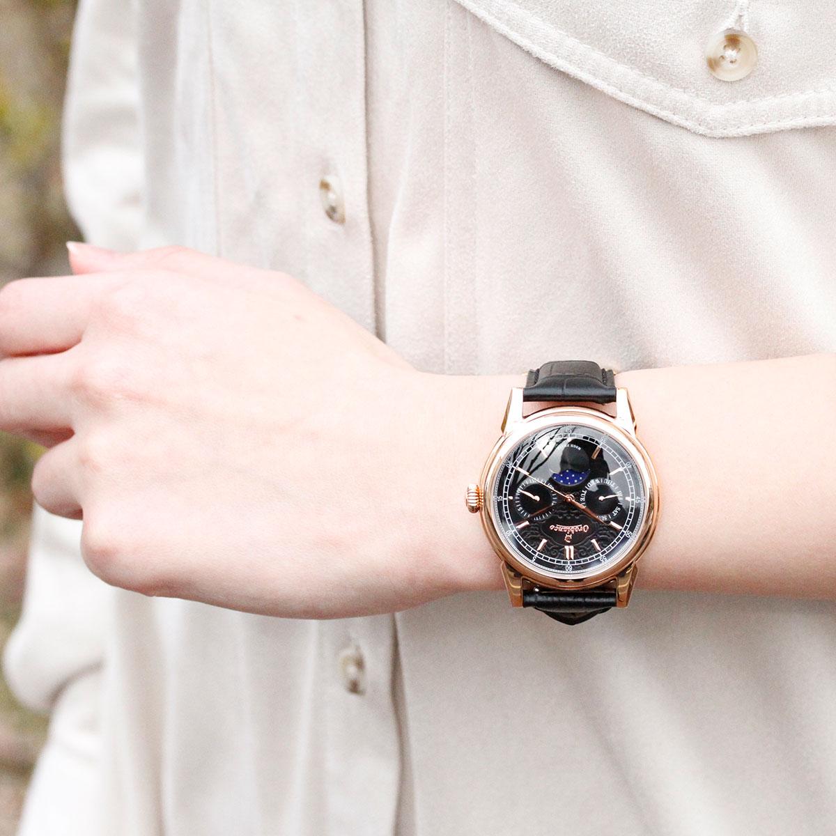 オロビアンコ 時計 メンズ Orobianco 腕時計 ビアンコネーロ BIANCONERO OR0074-33