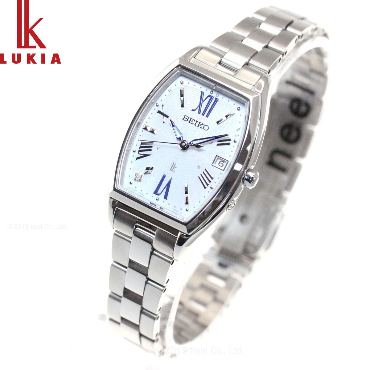ルキア セイコー 電波 ソーラー 腕時計 レディース SSVW165
