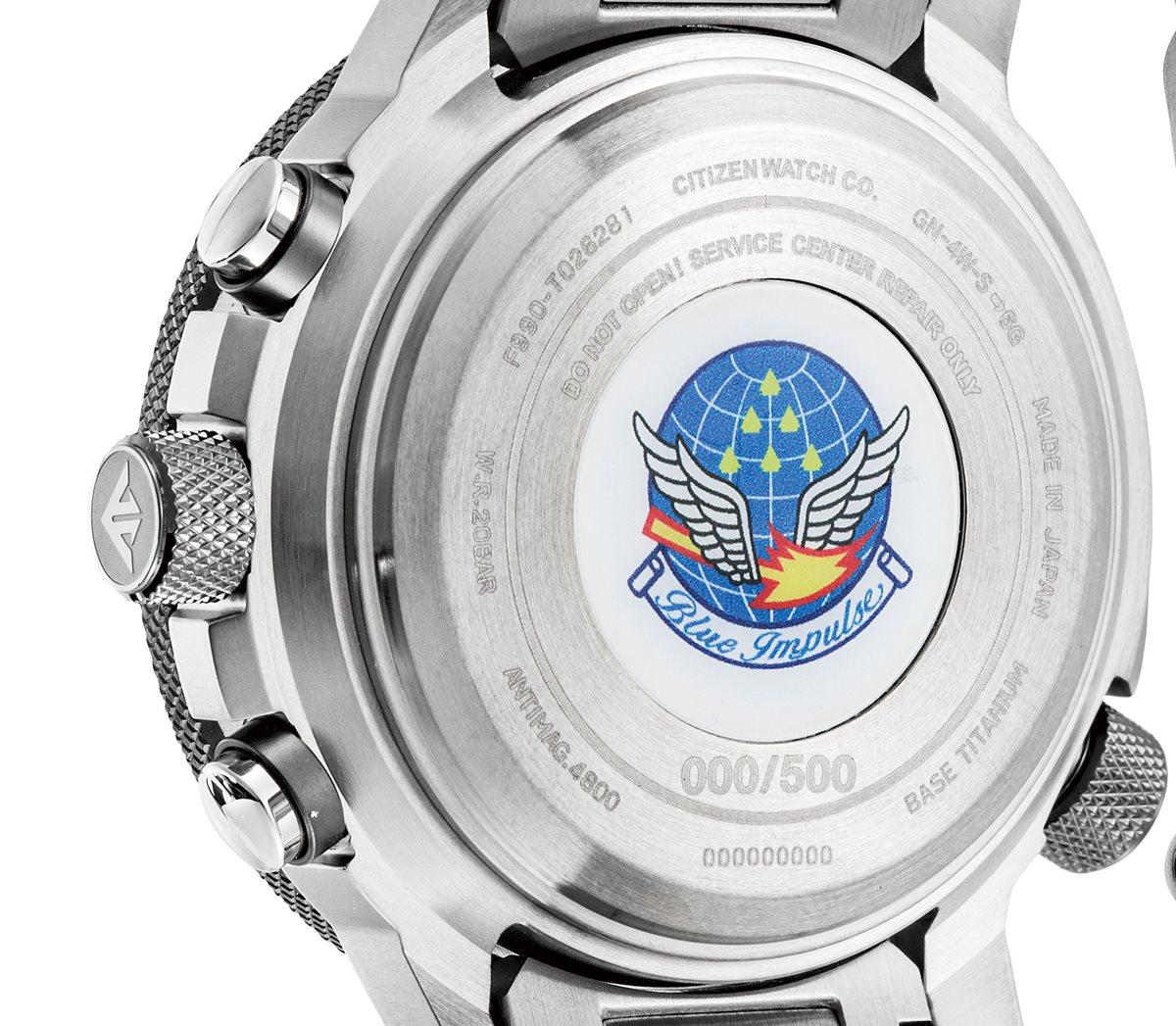 シチズン プロマスター スカイ エコドライブ GPS衛星電波時計 F990 ブルーインパルス 限定モデル 腕時計 メンズ CITIZEN PROMASTER SKY CC7015-63E