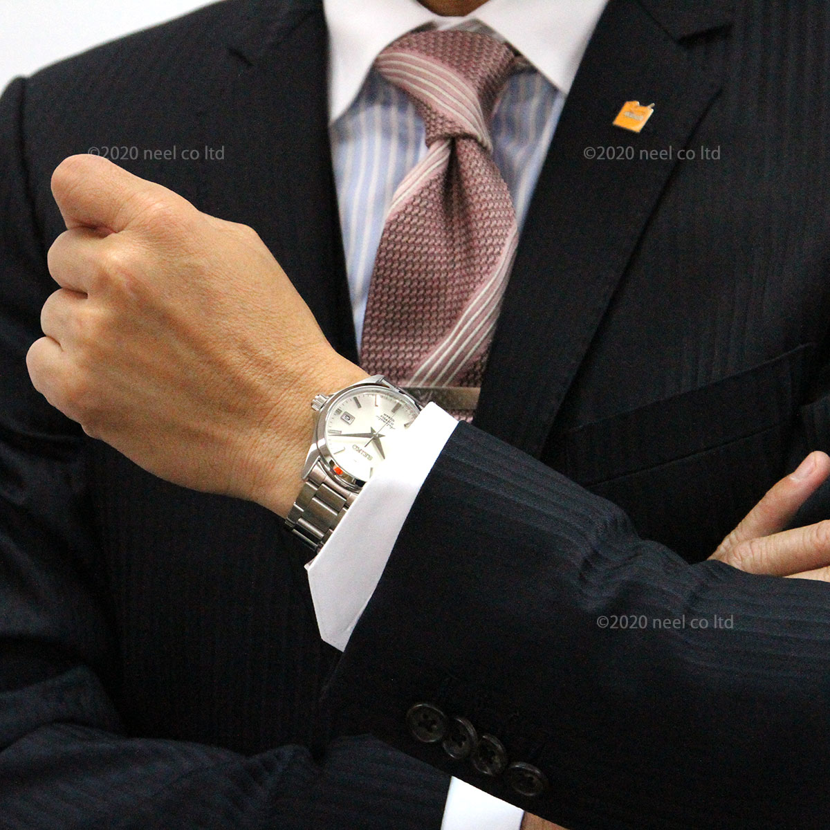 セイコー メカニカル 自動巻き 先行販売 ネット流通限定モデル 腕時計 メンズ ドレスライン SEIKO Mechanical SZSB011